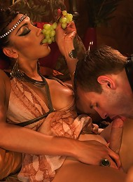 TS Yasmin Lee as Cleopatra TsSeduction.com Special Feature