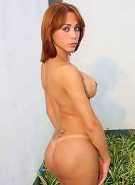 This tranny is the newest sensation in the shemale world! Sweet & feminine but loves nothing more than showing off